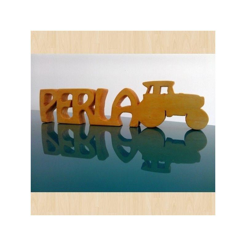 3D Табелка от дърво