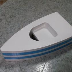 Лодка за детска фотография